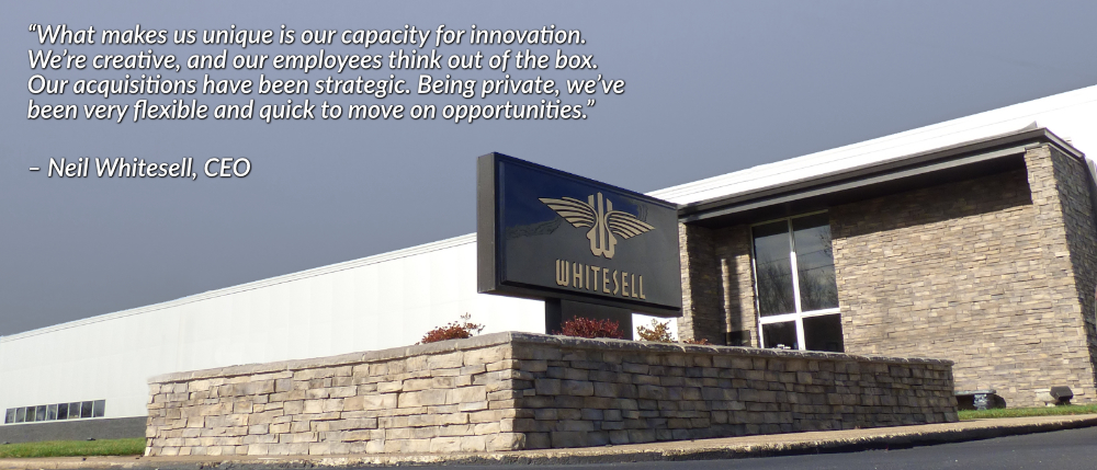 Whitesell Company - Neil Whitesell pullquote