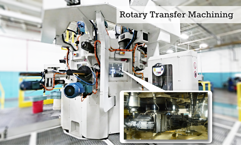 CNC Precision Machining Rotary Transfer Machining