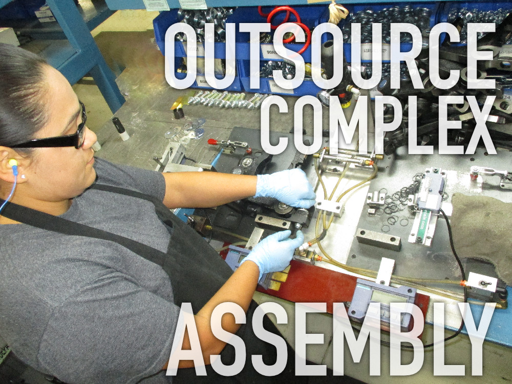 OUTSOURCE COMPLEX AND MISSION CRITICAL ASSEMBLY