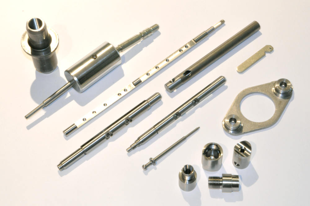 Precision Machined Components x