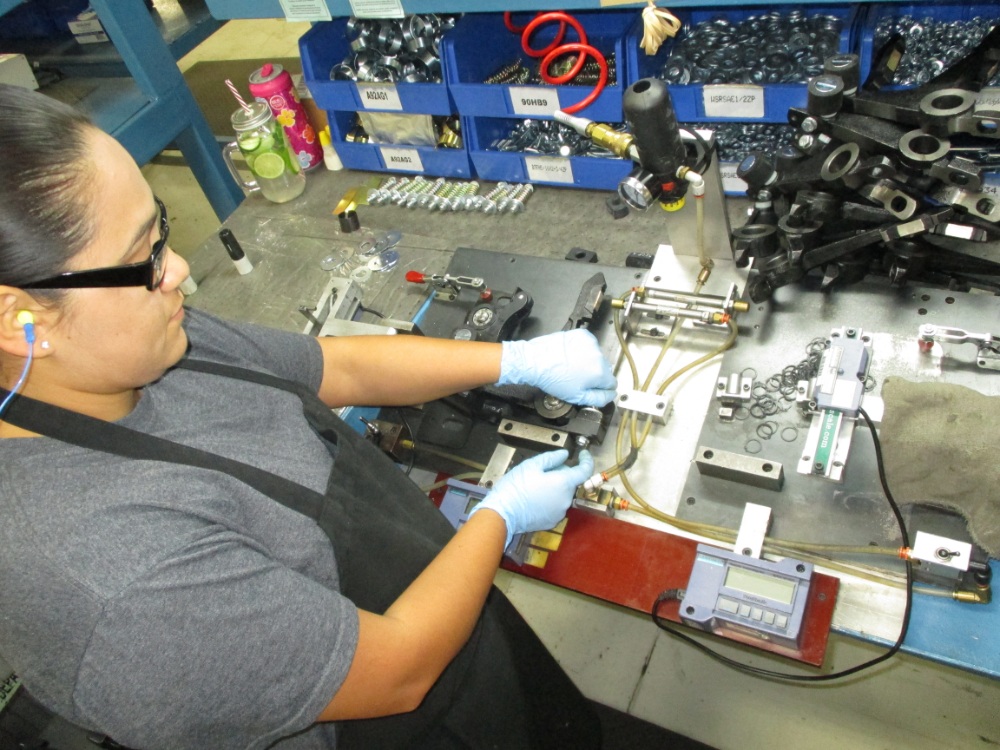 Assembly and Testing of Finished Components