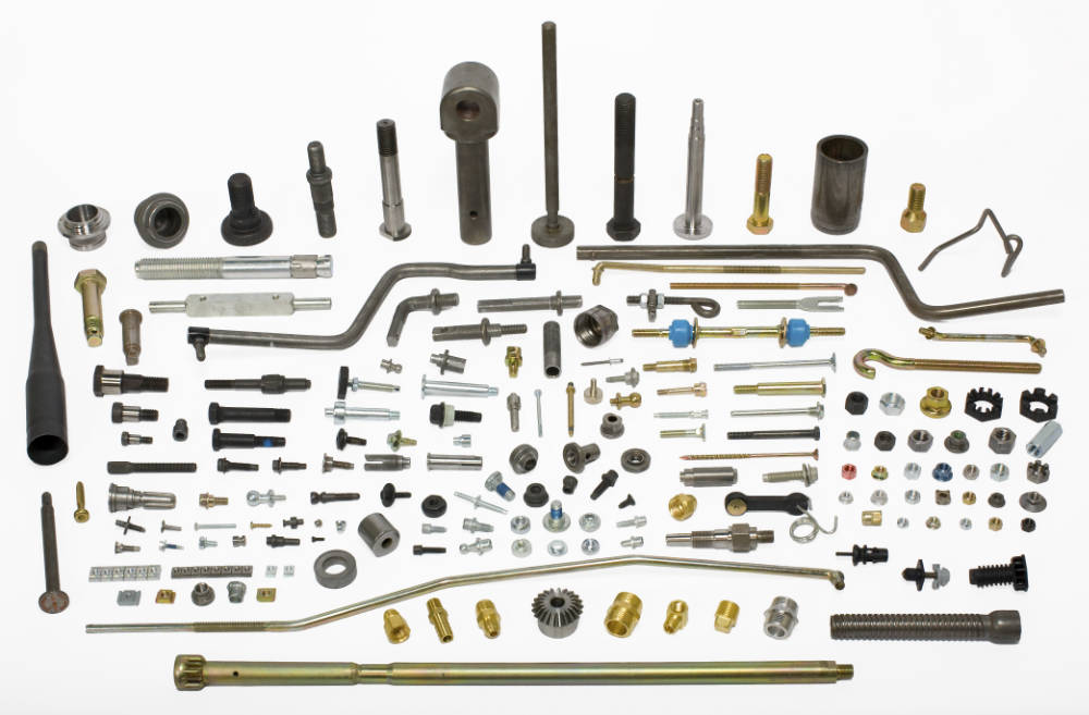 A selection of Whitesell manufactured metal form products